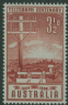 AUS SG275 3½d Brown-Red Telegraph System Centenary